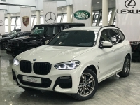 BMW X3 III (G01) 30i xDrive 2.0 AT (249 л.с.) 4WD